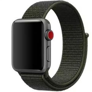 Army Green Sport Loop Band for Apple iWatch